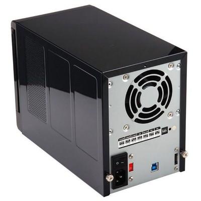 "Dark DK-AC-DSX41U3R QUAD RaidBox eSATA/USB3.0 Destekli 4x3,5"" Hot Swap DAS HDD Kutusu Harici Disk Kutusu"