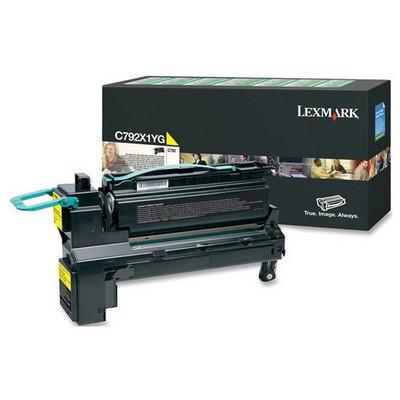 Lexmark C792X1YG Sarı Toner