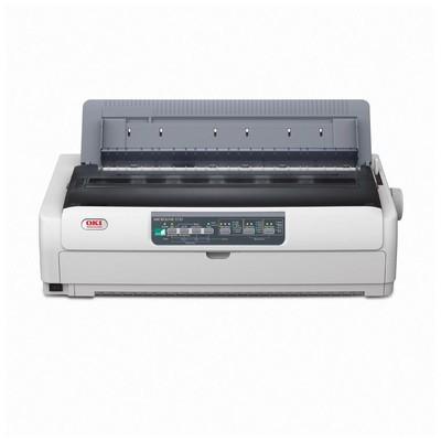 OKI ML5721 Eco 9 Pin 136 Kolon 700CPS 1+6 Kopya 128KB PARALEL+USB (44210005) Nokta Vuruşlu Yazıcı