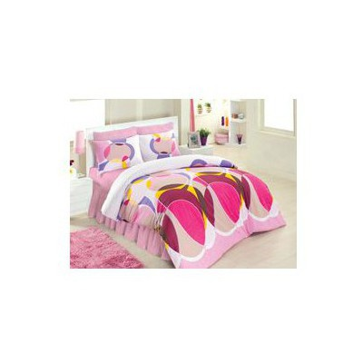 Altınbaşak Decorite Uyku Seti Çift Kişilik - Pembe Ev Tekstili