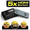 Dark Full Hd 5 Giriş 1 Çıkışlı Uzaktan Kumandalı H HDMI Kablolar