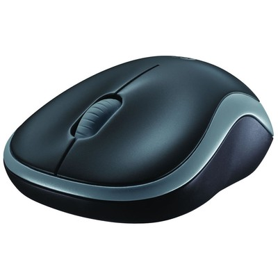Logitech M185 Wireless Mouse - Gri (910-002235)