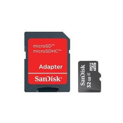 Sandisk Sdsdqm-032g-b35a 32gb, Micro Secure Dijital Adaptörlü Microsd Kart
