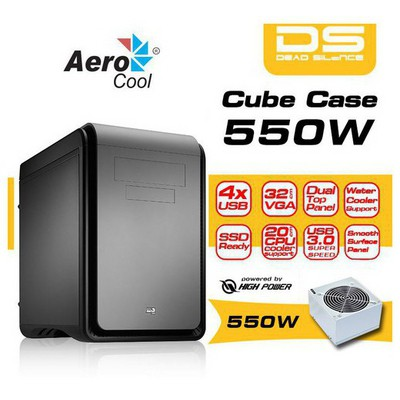 Aerocool Ae-ds-blk550 550w Ds Serisi Cube Kasa