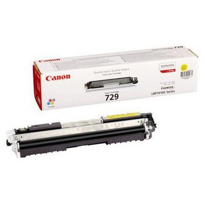 Canon 729 Y Sarı Toner - 1000 Sayfa (4367B002)
