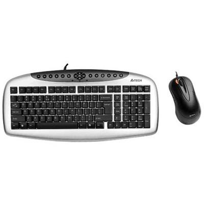 A4 Tech KB-2150D Kablolu Q Klavye ve Mouse Seti