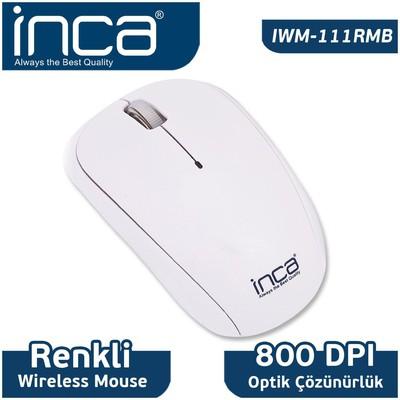 Inca IWM-111RMB Kablosuz Mouse - Beyaz