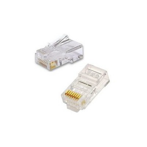 Frisby Utp Cat5 Rj45 Konnektör (100'lü Paket) Network Kablosu