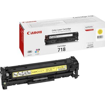 Canon CRG-718Y Sarı Toner