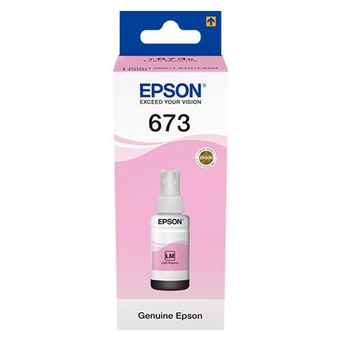 Epson T673 Açık Kırmızı Kartuş (C13T67364A)
