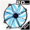 Silent Master 20cm Mavi Kasa Fanı (AE-CFSL200B)
