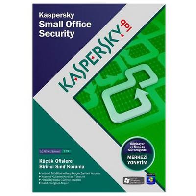 Kaspersky Small Office Securty 1+10 Dvd Kutu 1 YIL Güvenlik Yazılımı