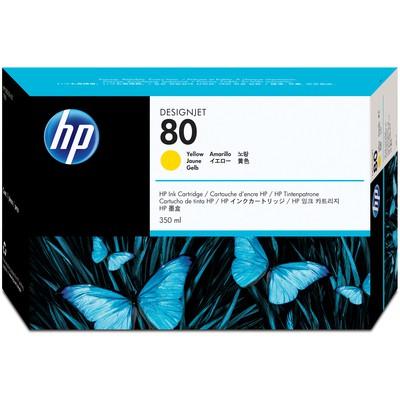 HP 80 Sarı Kartuş C4848A