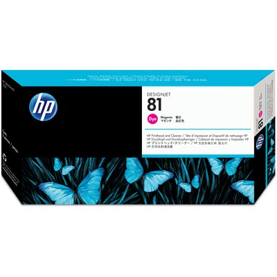 HP C4952a Magenta Boya B.kafa Ve Temizl. (81) Kartuş
