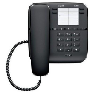 Gigaset DA310 Masaüstü Telefon - Siyah