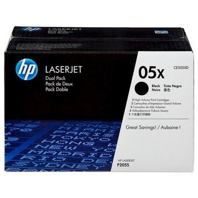 HP 05X CE505XD 2'li Toner