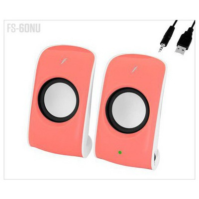 Frisby Fs-60nu 4w Rms,kablolu 1+1 ,pembe Speaker