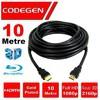 Codegen Cps100 10 Metre Hdmı V1.4 10mt, 3d, Ağ Destekli, Altın Uçlu Hdmı Kablo HDMI Kablolar