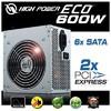 600w Eco Güç Kaynağı (HPE-600-A12S)