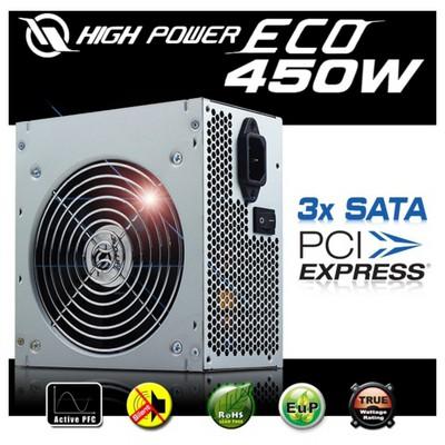 Highpower High Power Eco 450w Series Aktif Pfc Psu
