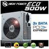 High Power 500w Eco Güç Kaynağı (HPE-500-A12S)