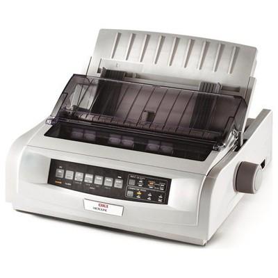 OKI ML5520 Eco A4 9 PİN 80 KOLON 570CPS 1+5 KOPYA 128KB PARALEL+USB, (1308601) Nokta Vuruşlu Yazıcı