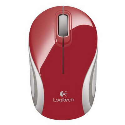 Logitech M187 Wireless Mini Mouse - Kırmızı (910-002732)