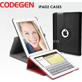 Codegen MYBAG IPAD2 KILIFI SİYAH DERİ - İÇİ SİYAH  Tablet Kılıfı