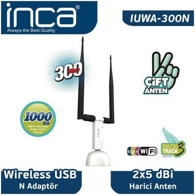 Inca IUWA-300N Wireless N USB Adaptör