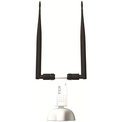Inca Iuwa-300n Kablosuz,300mbps,harici 2x5dbi Antenli Usb Adaptör Anten / Ağ Adaptörü