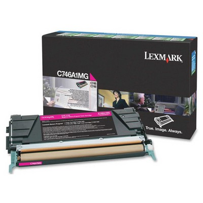 Lexmark C746A1MG Kırmızı Toner
