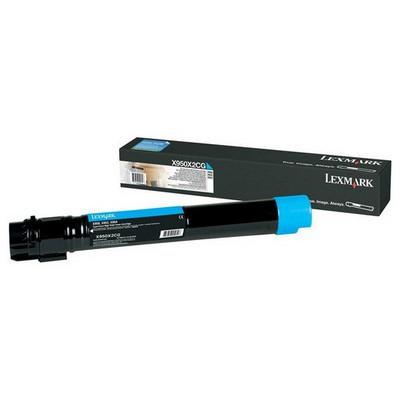 Lexmark X950x2cg X950de, X952de, X954de Mavi Toner