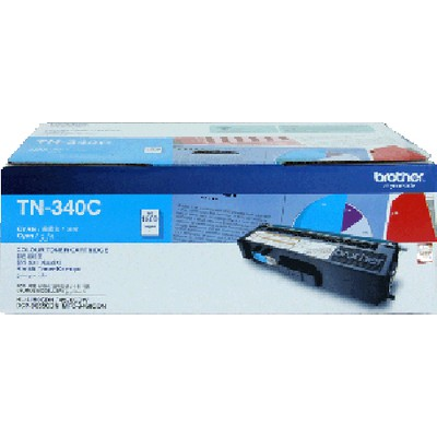 Brother TN-340C Mavi Toner
