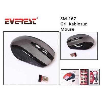 everest-sm-167-kablosuz-gri