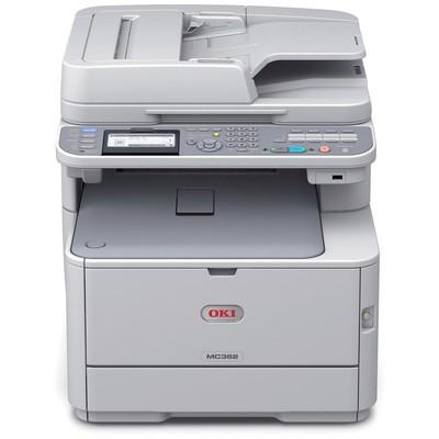OKI Mc362dn, Renkli Laser Mfp Fax, Proq2400dpi, Lcd, Dupleks, Usb2.0+network, Pcl+ps+sıdm, (44952104) Lazer Yazıcı