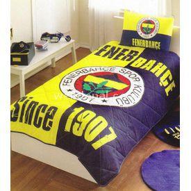 Taç Tekstil TAÇ FENERBAHÇE 1907 LİSANSLI YATAK ÖRTÜSÜ Fenerbahçe Ürünleri