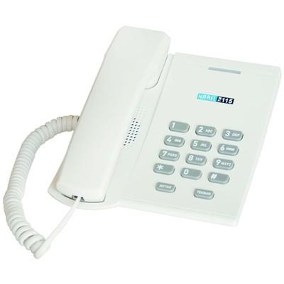 karel-tm-115-beyaz-kablolu-masaustu-telefon-beyaz