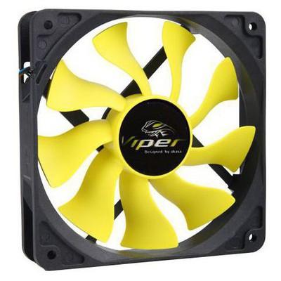 Akasa Ak-fn059 Viper 12cm S-flow Yüksek Performanslı Sessiz Kasa ı Fan