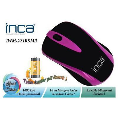 Inca IWM-221RSMR Kablosuz Mouse - Mor