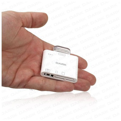 Dark Dk-ac-ıpck5 Apple Ipad Connection Kit 5 In 1 -  Ve Usb Bağlantısı Kart Okuyucu
