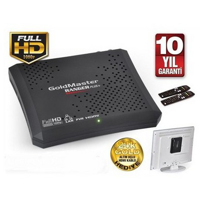 Goldmaster Ranger Hd Plus Pvr Dijital Uydu Alıcı Media Player