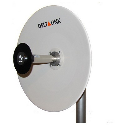 Deltalink 5 Ghz Mimo Parabolic Dish Anten Anten / Ağ Adaptörü