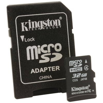 Kingston 32gb Microsd Class4 Sdc4/32gb Micro SD Kart