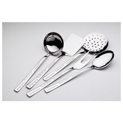 Almond Defne Sade 5 Parça Servis Takımı Çatal, Kaşık, Bıçak