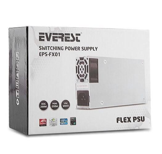 Everest Eps-fx01 Real 200w Peak 250w Power Supply Güç Kaynağı