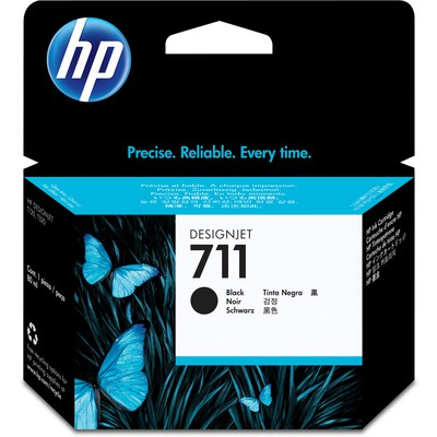 HP 711 Siyah CZ133A Kartuş