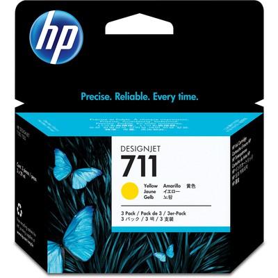 HP 711 CZ136A Sarı Kartuş