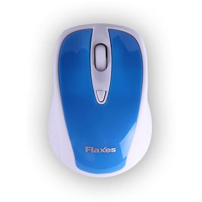 Flaxes FLX-909wkm Kablosuz Mouse - Mavi