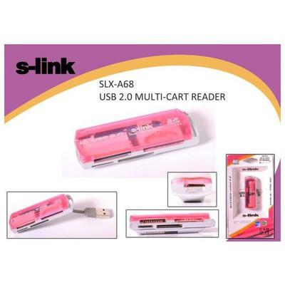S-Link Slx-a68 Usb Bağlantılı External Kart Okuyucu