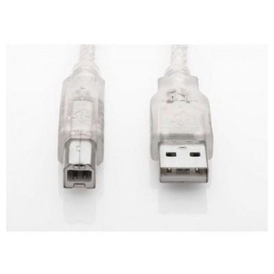 S-Link Sl-u2005 Usb2.0 5m Şeffaf Yazıcı Kablo Yazıcı Kabloları